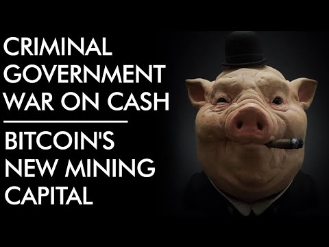 Criminal Government War on Cash