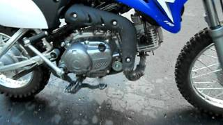 10. Dedication to saabkyle04:2009 Yamaha TTR 110 Start Up,Exhaust,In depth tour