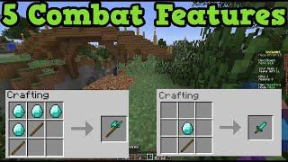 Minecraft 1.9 The Combat Update - 5 Combat Feature Ideas