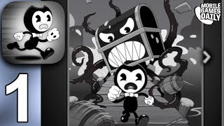 BENDY IN NIGHTMARE RUN - Bendy Walks The Plank ACT - Gameplay Walkthrough Part 1 (iOS Android)