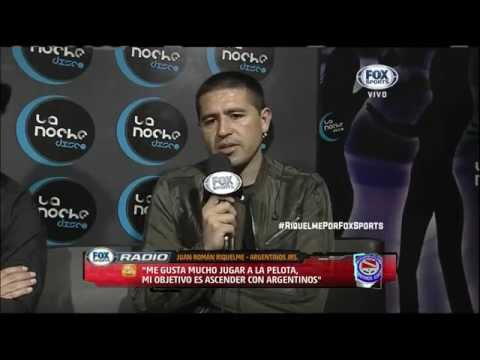 Vide Juan Roman Riquelme entrevista en FOX Sports Radio - Parte 4