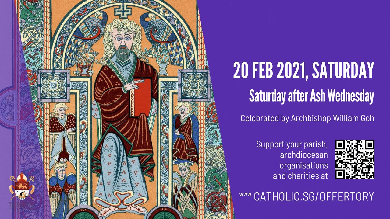 Catholic Mass 20th February 2021 Today Online after Ash Wednesday 2021