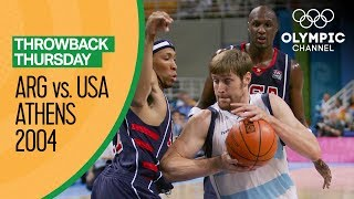 Video Argentina v USA - Semi Final   Athens 2004 - Condensed Game   Throwback Thursday MP3, 3GP, MP4, WEBM, AVI, FLV September 2019