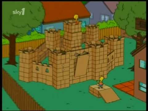 simpsons Box fort.mpg