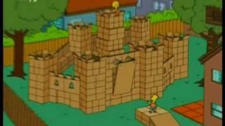 simpsons Box fort