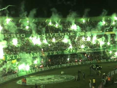 Video - Green Hell I Coritiba 2009: Coritiba x Inter - Império Alviverde - Coritiba - Brasil - América del Sur
