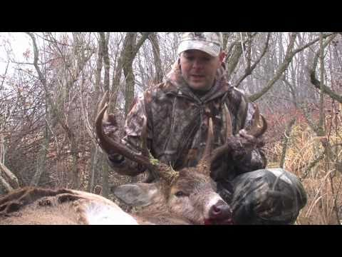 Monster Ohio Buck and Coyote Bow Hunt