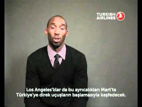 Turkish Airlines Kobe Bryant Says Hi!