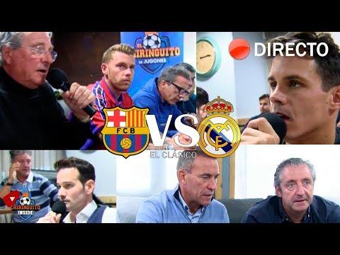 REACCIONES al Barça VS. Real Madrid con EL CHIRINGUITO  CLÁSICO IDA COPA DEL REY
