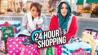 24 HOUR Shopping Challenge! Niki and Gabi