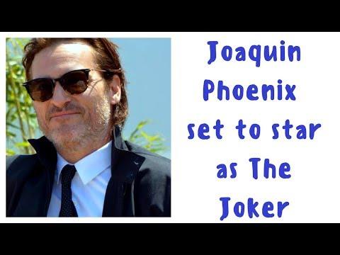 Joaquin Phoenix will play Joker in upcoming origin movie
