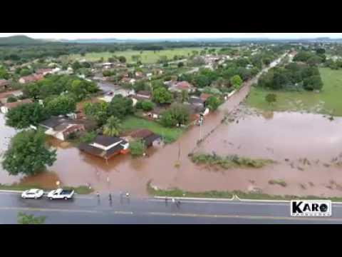 Chuva Intensa em Bodoquena MS dia 15/05/2017