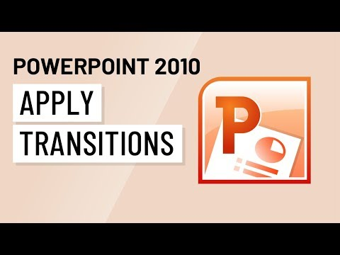 PowerPoint 2010: Applying Transitions