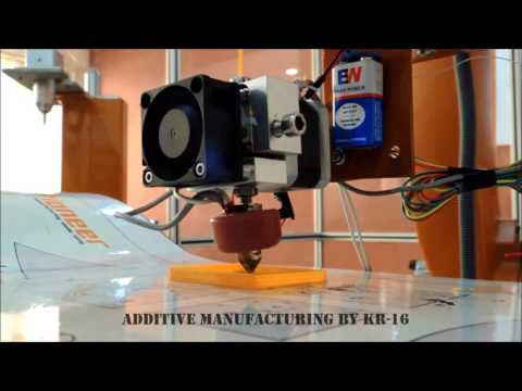 Additive Manufacturing By KR-16 (KUKA ROBOT)