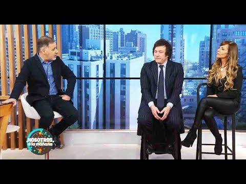 Videos de amor - Nosotros a la mañana - Programa 10/10/18 - La historia de amor de Daniela y Javier Milei