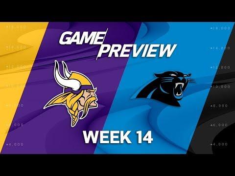 Video: Minnesota Vikings vs. Carolina Panthers | NFL Week 14 Game Preview | Move the Sticks