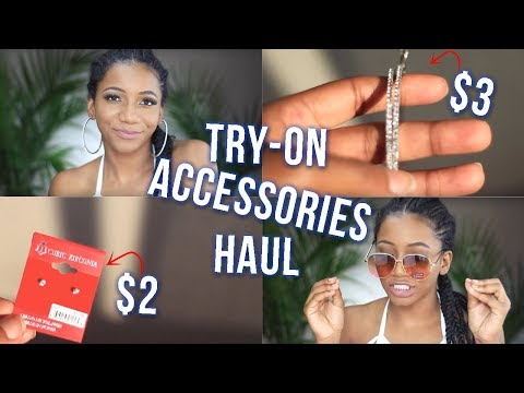 2018 Trendy/Affordable Accessories (Try-On Haul) Beauty Supply Store | Annesha Adams