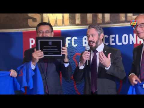 Visit To FC Barcelona Penya In New York