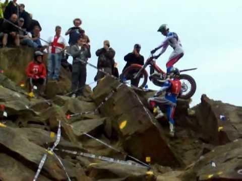 james dabill section 9 british 2011 trials final (beta 2012 trials bike)