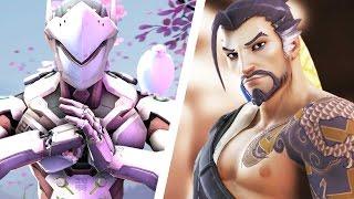 Video Les frères Shimada (Hanzo et Genji) - Histoire d'un héros Overwatch MP3, 3GP, MP4, WEBM, AVI, FLV Mei 2017