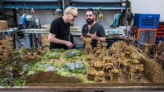 Weta Workshop Sculptor's Tabletop Miniature World!