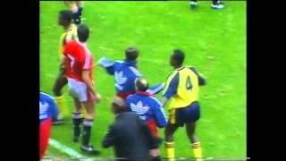 Manchester United V Arsenal 1990-91