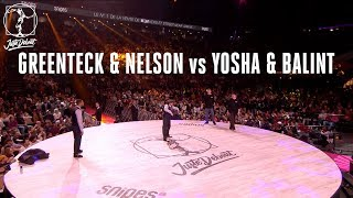 Greenteck & Nelson vs Jossa Bence & Balint – Juste Debout 2018 Popping EIGHTH FINAL