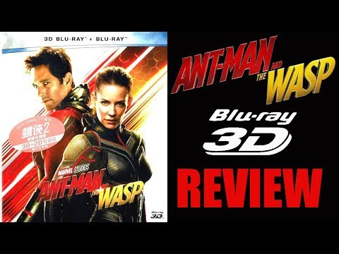 ANT-MAN AND THE WASP 3D Blu-ray Review