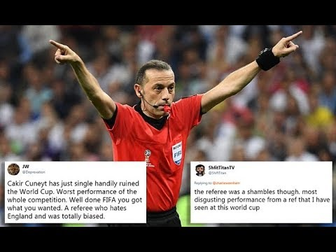 England fans lash out at 'biased' Turkish referee - 247 news