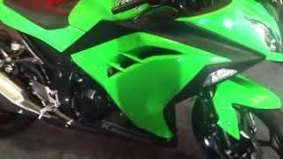10. 2013 Kawasaki Ninja 300 in India walkaround