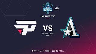 paiN Gaming  vs Team Aster, ESL  One Hamburg, bo3, game 1 [Santa & GodHunt]