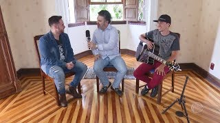 Entrevista com o cantor Kevin Tinti - Visita Record