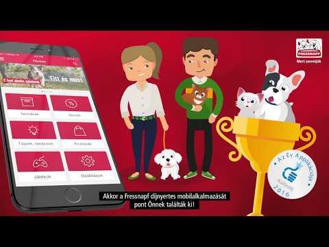 Fressnapf mobilapplikácó