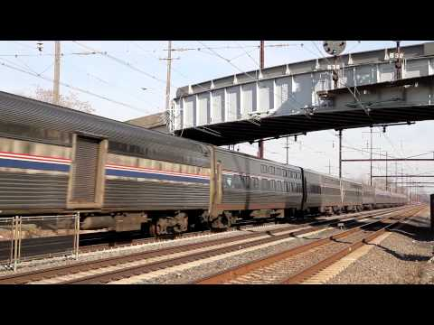 Amtrak Northeast Corridor Thanksgiving Sunday 2013 - Part 1