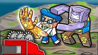 Avengers Infinity War: DESTROYING THE INFINITY GAUNTLET! (Minecraft Movie)