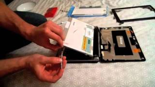 How To Replace Laptop Screen EMachines EM250 Series Model KAV60