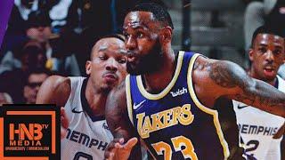Los Angeles Lakers vs Memphis Grizzlies Full Game Highlights | Feb 25, 2018-19 NBA Season