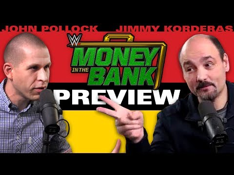 WWE Money In The Bank 2017 Preview & Predictions w/ John Pollock & Jimmy Korderas (видео)
