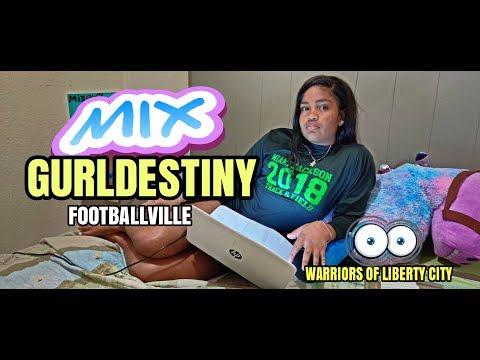 Warriors of Liberty City - Mix Gurl Destiny designs Footballville gear
