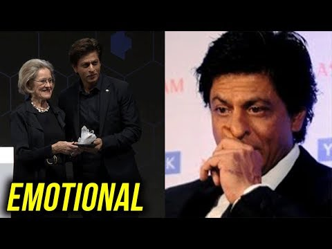 Shah Rukh Khan SPEECH gets Twitter EMOTIONAL | Dav