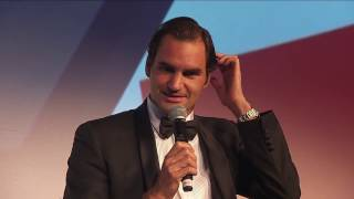 Roger Federer discusses kids and tennis, injuries, career success, his greatest rival and his favourite match of his career.