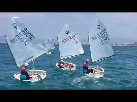 Regata padres Optimist y Windsurf CNA 2018