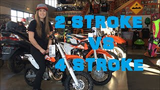 6. Megan Griffiths: Should you buy a two stroke or a four stroke?