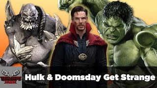 DEATH BATTLE Cast: Hulk & Doomsday Get Strange