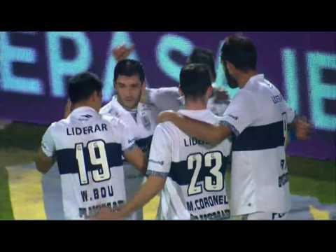 Gol de Meza. Gimnasia 1 – Colón 0. Fecha 16. Primera División 2016