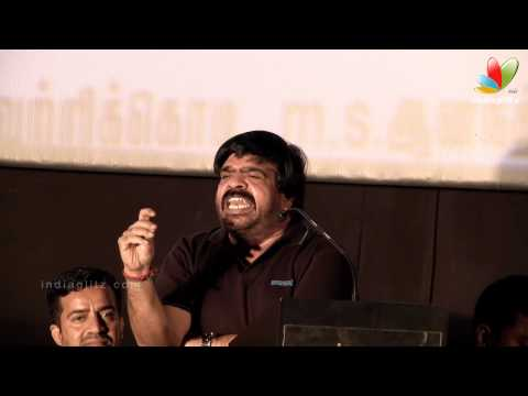 T.Rajendar Funny Speech at Kalkandu Tamil Movie Audio Launch   K. Bhagyaraj, P.Vasu