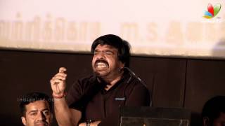 T.Rajendar Funny Speech at Kalkandu Tamil Movie Audio Launch
