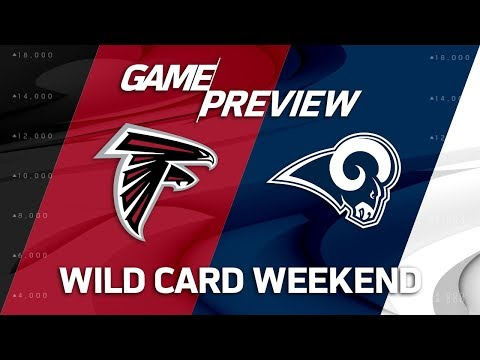 Video: Atlanta Falcons vs. Los Angeles Rams | NFL Wild Card Weekend Game Preview | Move the Sticks