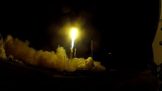 Falcon 9 CRS-5 Launch Video From GoPro Hero 2 Northeast Of The Pad
