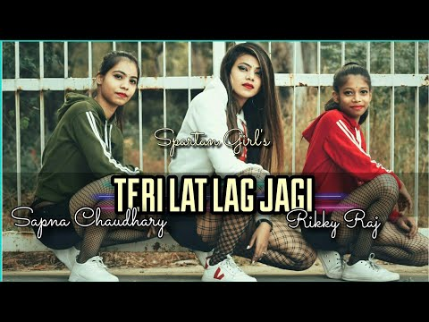   Teri Lat Lag Jaagi   Sapna Chowdhary   Ricky Raaj   Cower By Spartan Girls  